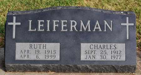 LEIFERMAN, CHARLES - McCook County, South Dakota | CHARLES LEIFERMAN - South Dakota Gravestone Photos