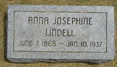 LINDELL, ANNA JOSEPHINE - McCook County, South Dakota | ANNA JOSEPHINE LINDELL - South Dakota Gravestone Photos