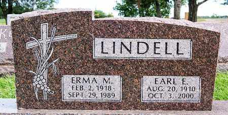 LINDELL, EARL E - McCook County, South Dakota | EARL E LINDELL - South Dakota Gravestone Photos