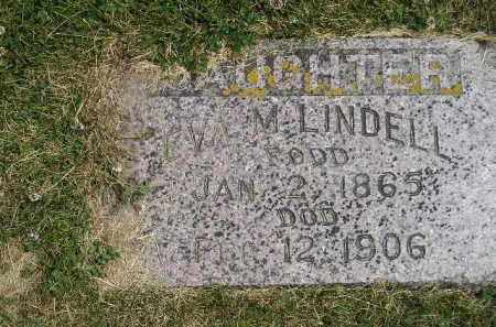 LINDELL, EVA M. - McCook County, South Dakota | EVA M. LINDELL - South Dakota Gravestone Photos