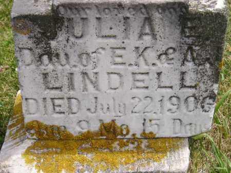 LINDELL, JULIA E. - McCook County, South Dakota | JULIA E. LINDELL - South Dakota Gravestone Photos
