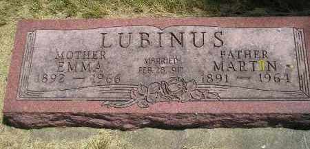 LUBINUS, EMMA - McCook County, South Dakota | EMMA LUBINUS - South Dakota Gravestone Photos