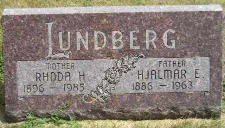 LUNDBERG, RHODA H. - McCook County, South Dakota | RHODA H. LUNDBERG - South Dakota Gravestone Photos