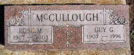MCCULLOUGH, ROSE M - McCook County, South Dakota | ROSE M MCCULLOUGH - South Dakota Gravestone Photos
