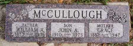 MCCULLOUGH, WILLIAM A - McCook County, South Dakota | WILLIAM A MCCULLOUGH - South Dakota Gravestone Photos
