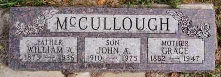 MCCULLOUGH, JOHN A - McCook County, South Dakota | JOHN A MCCULLOUGH - South Dakota Gravestone Photos
