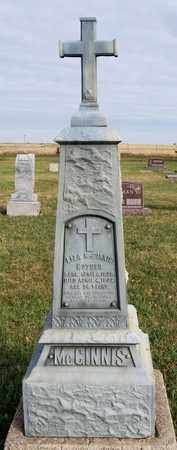 MCGINNIS, LIZA - McCook County, South Dakota | LIZA MCGINNIS - South Dakota Gravestone Photos