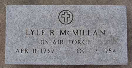 MCMILLAN, LYLE R (MILITARY) - McCook County, South Dakota | LYLE R (MILITARY) MCMILLAN - South Dakota Gravestone Photos