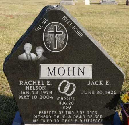 MOHN, RACHEL E - McCook County, South Dakota | RACHEL E MOHN - South Dakota Gravestone Photos
