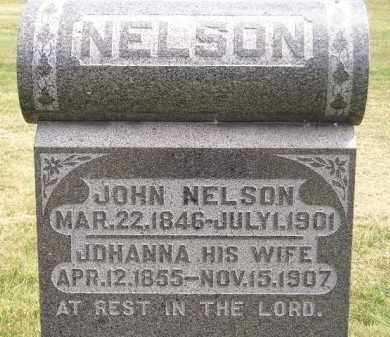 NELSON, JOHANNA - McCook County, South Dakota | JOHANNA NELSON - South Dakota Gravestone Photos