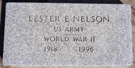 NELSON, LESTER E (WWII) - McCook County, South Dakota | LESTER E (WWII) NELSON - South Dakota Gravestone Photos