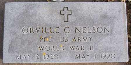 NELSON, ORVILLE G (WWII) - McCook County, South Dakota | ORVILLE G (WWII) NELSON - South Dakota Gravestone Photos