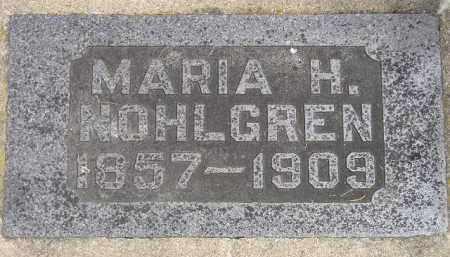 NOHLGREN, MARIA H. - McCook County, South Dakota | MARIA H. NOHLGREN - South Dakota Gravestone Photos
