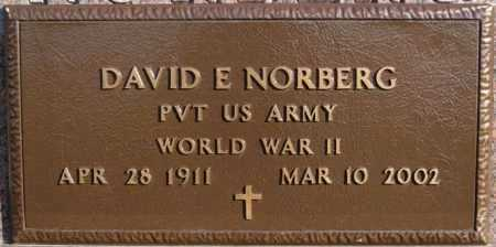 NORBERG, DAVID E (WWII) - McCook County, South Dakota | DAVID E (WWII) NORBERG - South Dakota Gravestone Photos