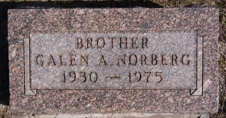 NORBERG, GALEN A - McCook County, South Dakota | GALEN A NORBERG - South Dakota Gravestone Photos