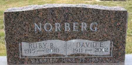 NORBERG, RUBY B - McCook County, South Dakota | RUBY B NORBERG - South Dakota Gravestone Photos