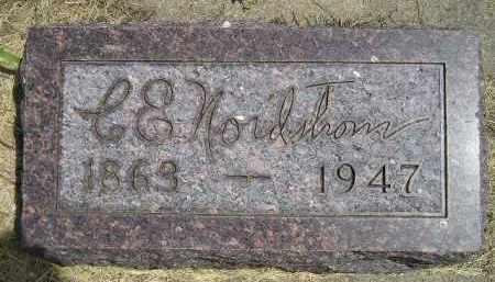 NORDSTROM, C.E. - McCook County, South Dakota | C.E. NORDSTROM - South Dakota Gravestone Photos
