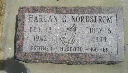 NORDSTROM, HARLAN G. - McCook County, South Dakota | HARLAN G. NORDSTROM - South Dakota Gravestone Photos