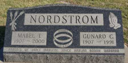NORDSTROM, MABEL T - McCook County, South Dakota | MABEL T NORDSTROM - South Dakota Gravestone Photos