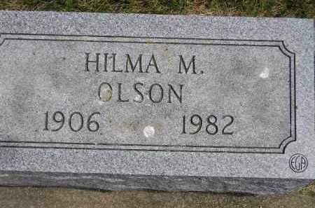 OLSON, HILMA M. - McCook County, South Dakota | HILMA M. OLSON - South Dakota Gravestone Photos