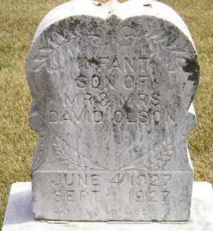 OLSON, INFANT - McCook County, South Dakota | INFANT OLSON - South Dakota Gravestone Photos