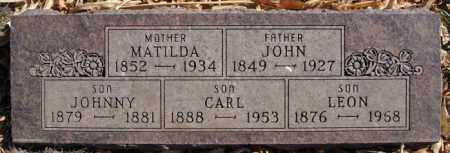 OLSON, JOHNNY - McCook County, South Dakota | JOHNNY OLSON - South Dakota Gravestone Photos
