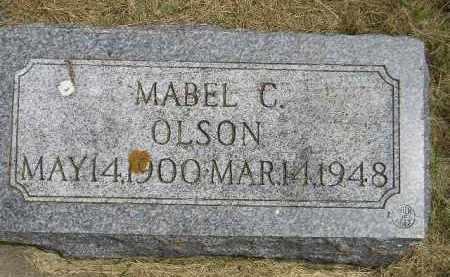 OLSON, MABEL C. - McCook County, South Dakota | MABEL C. OLSON - South Dakota Gravestone Photos