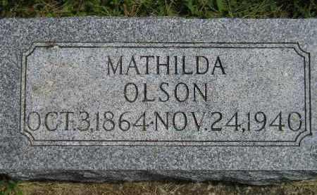 OLSON, MATHILDA - McCook County, South Dakota | MATHILDA OLSON - South Dakota Gravestone Photos