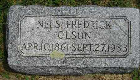 OLSON, NELS FREDRICK - McCook County, South Dakota | NELS FREDRICK OLSON - South Dakota Gravestone Photos