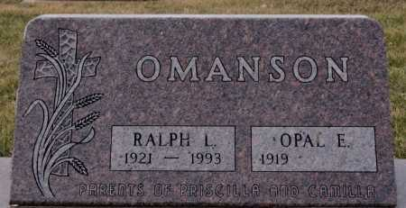 OMANSON, RALPH L - McCook County, South Dakota | RALPH L OMANSON - South Dakota Gravestone Photos