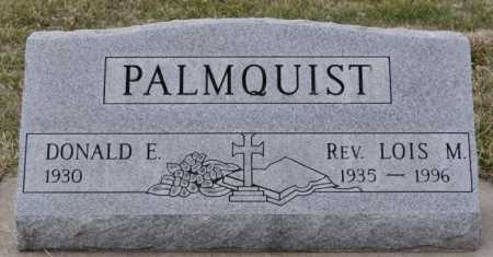 PALMQUIST, DONALD E - McCook County, South Dakota | DONALD E PALMQUIST - South Dakota Gravestone Photos