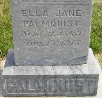 PALMQUIST, ELLA JANE - McCook County, South Dakota | ELLA JANE PALMQUIST - South Dakota Gravestone Photos