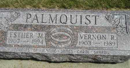 PALMQUIST, ESTHER M. - McCook County, South Dakota | ESTHER M. PALMQUIST - South Dakota Gravestone Photos
