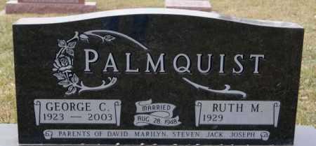 PALMQUIST, GEORGE C - McCook County, South Dakota | GEORGE C PALMQUIST - South Dakota Gravestone Photos