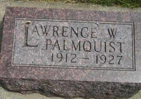 PALMQUIST, LAWRENCE W. - McCook County, South Dakota | LAWRENCE W. PALMQUIST - South Dakota Gravestone Photos