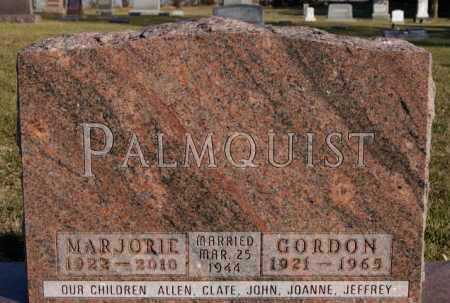 PALMQUIST, MARJORIE - McCook County, South Dakota | MARJORIE PALMQUIST - South Dakota Gravestone Photos