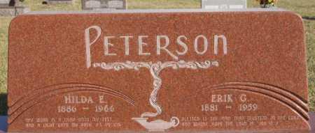 PETERSON, ERIK G - McCook County, South Dakota   ERIK G PETERSON - South Dakota Gravestone Photos