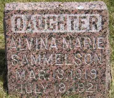 SAMMELSON, ALVINA MARIE - McCook County, South Dakota | ALVINA MARIE SAMMELSON - South Dakota Gravestone Photos