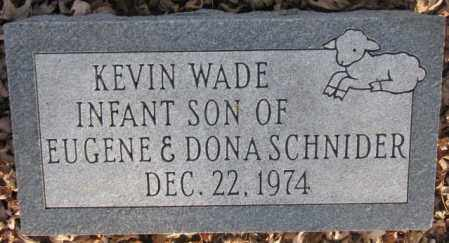 SCHNIDER, KEVIN WADE - McCook County, South Dakota | KEVIN WADE SCHNIDER - South Dakota Gravestone Photos