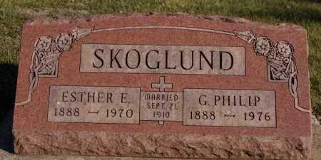 SKOGLUND, ESTHER E - McCook County, South Dakota | ESTHER E SKOGLUND - South Dakota Gravestone Photos