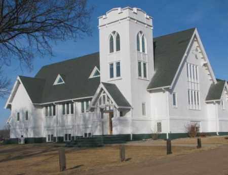 *SUN PRAIRIE BAPTIST, CHURCH - McCook County, South Dakota | CHURCH *SUN PRAIRIE BAPTIST - South Dakota Gravestone Photos
