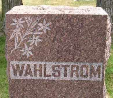 WAHLSTROM, FAMILY STONE - McCook County, South Dakota | FAMILY STONE WAHLSTROM - South Dakota Gravestone Photos