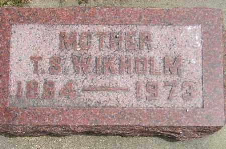 WIKHOLM, THERESA R. - McCook County, South Dakota | THERESA R. WIKHOLM - South Dakota Gravestone Photos