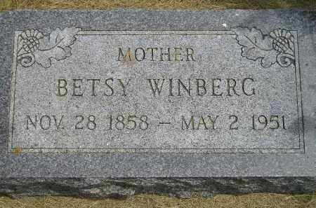 WINBERG, BETSY - McCook County, South Dakota | BETSY WINBERG - South Dakota Gravestone Photos