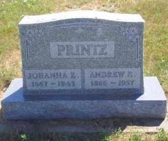LARSON PRINTZ, JOHANNA E - Meade County, South Dakota   JOHANNA E LARSON PRINTZ - South Dakota Gravestone Photos
