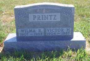 PRINTZ, VICTOR H - Meade County, South Dakota | VICTOR H PRINTZ - South Dakota Gravestone Photos