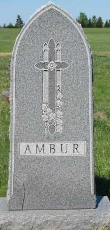 AMBUR, FAMILY MARKER - Mellette County, South Dakota | FAMILY MARKER AMBUR - South Dakota Gravestone Photos
