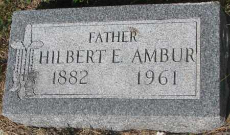 AMBUR, HILBERT E. - Mellette County, South Dakota | HILBERT E. AMBUR - South Dakota Gravestone Photos