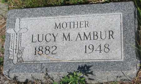 AMBUR, LUCY M. - Mellette County, South Dakota | LUCY M. AMBUR - South Dakota Gravestone Photos