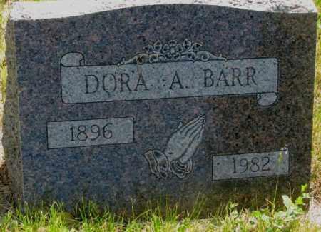 BARR, DORA A. - Mellette County, South Dakota | DORA A. BARR - South Dakota Gravestone Photos
